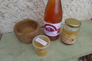 Main barcode-free mustard ingredients