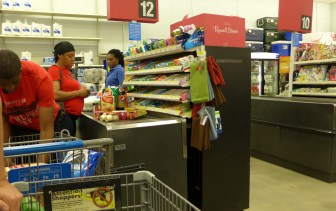 The Walmart checkout: where barcodes turn into US$