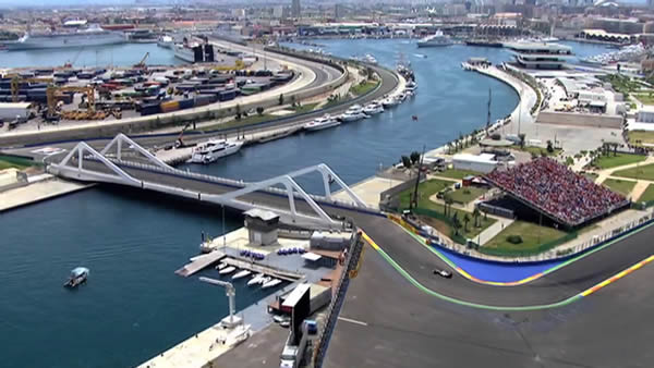 Gran Premio de Formula 1 en Valencia