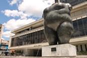 Estatua de Botero en Medellin