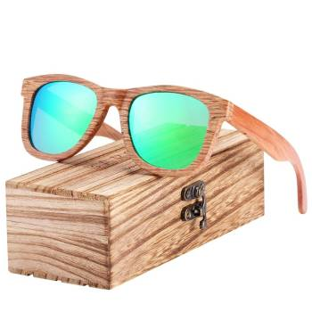 BARCUR Square DU Wood Sunglasses Men Women driving Traveling Vintage BC8215 Sunglasses for Men Sunglasses for Women Wooden Sunglasses