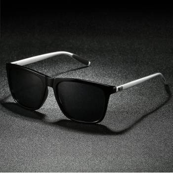 BARCUR Men/Women Polarized Aluminum +TR90 Material Sunglasses BC8108 Sunglasses for Men Aluminium Sunglasses Sunglasses for Women