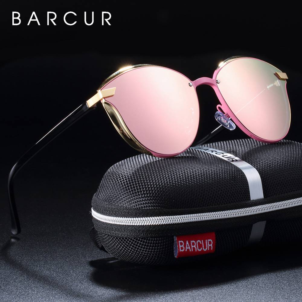 BARCUR Luxury Polarized Sunglasses Women Round BC8705 Round Series Sunglasses Sunglasses for Women