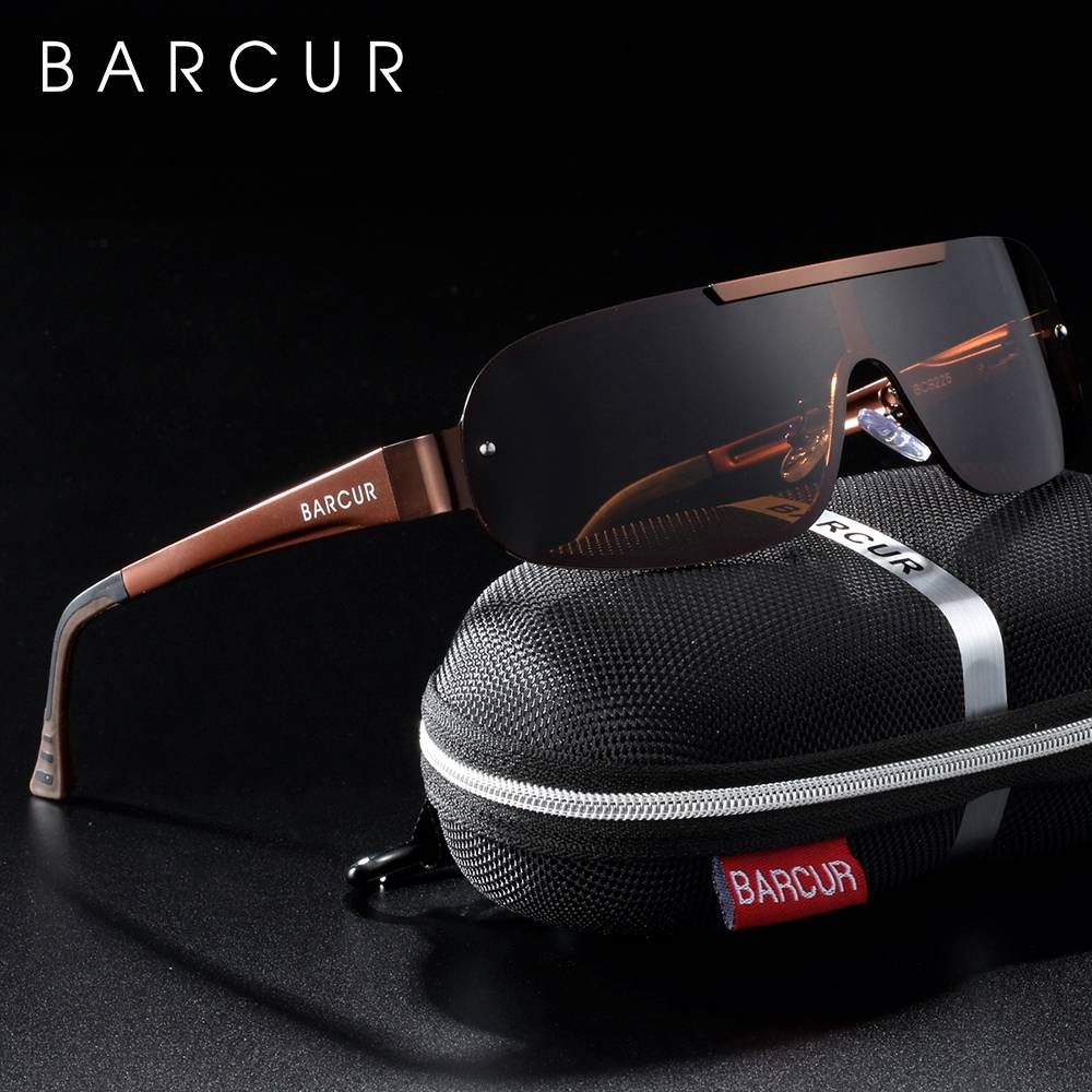 BARCUR Aluminum Magnesium Men Women Sunglasses Pilot Driving UV400 Protection BC8225 Sunglasses for Men Sunglasses for Women