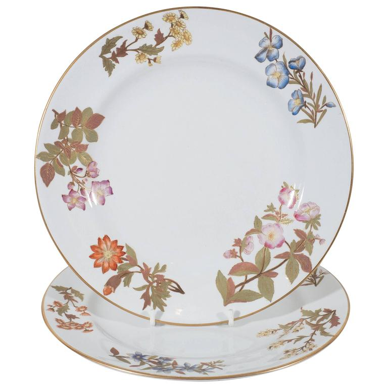 Antique Royal Worcester Porcelain Dishes  sc 1 st  Bardith & Royal Worcester Porcelain Plates | Antique Worcester Porcelain ...