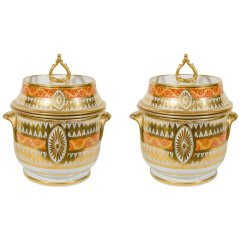 Coalport Fruit Coolers, ca. 1810