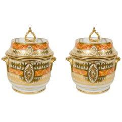 Coalport Fruit Coolers, ca. 1810