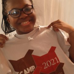 CAMPers with CAMP 2021 T-shirt