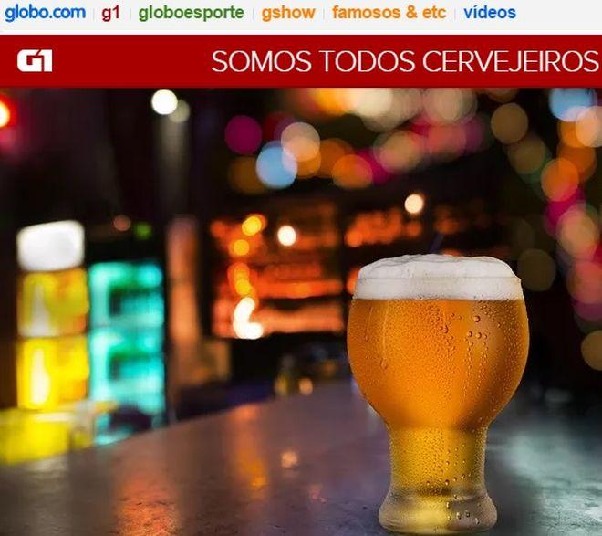 G1 - Celso - Somos todos cervejeiros