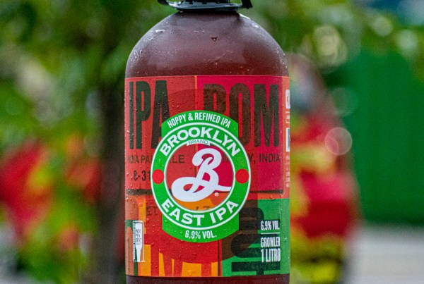 Brooklyn East IPA em growler