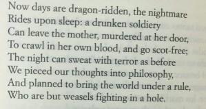 Poesía en Imágenes en Bardulias: W. B. Yeats