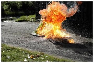 Poesía en Bardulias: Cóctel Molotov