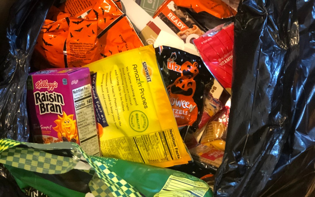 Kitchen Clean-out and Reading Food Labels
