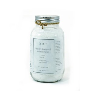 laundry detergent and fabric softener - bare. cleaning essential