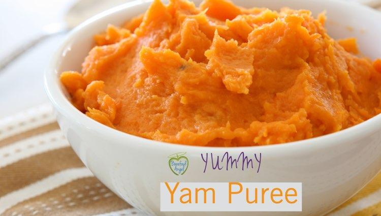 yam-puree