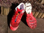 My Salomons after their first test - still looking and feeling great! :)