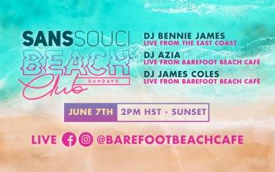 Sans Souci Beach Club On Facebook Live (Sundays)