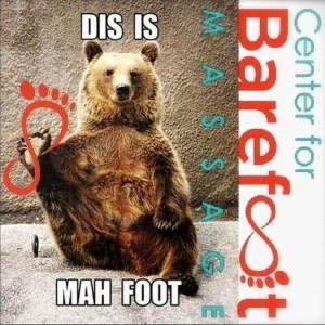 Bear-Foot-Massage