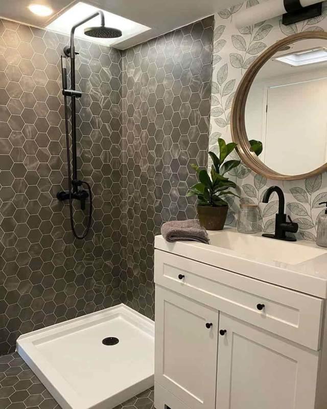 rv bathroom shower ideas
