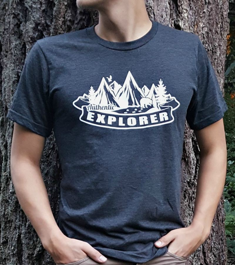 Authentic Explorer Unisex Tee