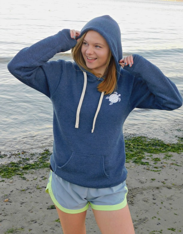 Beach Life Hoodie Front View