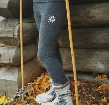 Nordic Snowflake Leggings Home Page