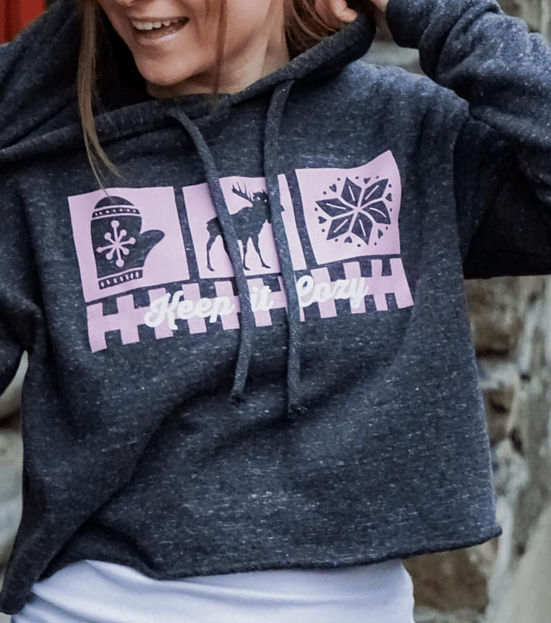 Keep it Cozy Hygge Hoodie Shop Image