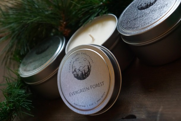 Evergreen Forest Candle Trio
