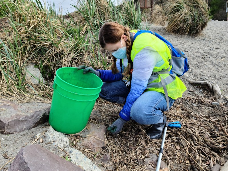 Edmonds Beach Cleanup