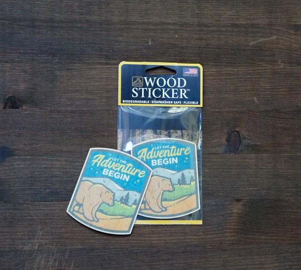 Adventure Bear Sticker Pack