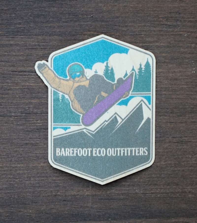 Snowboarding Sticker Product Photo
