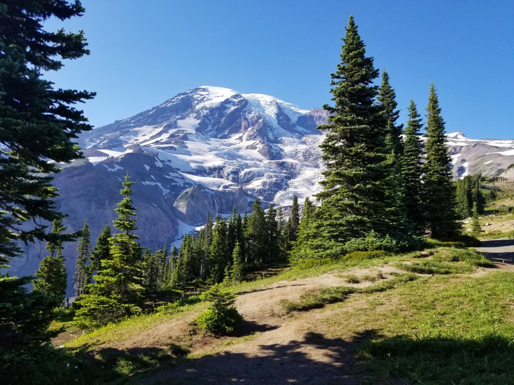 Mt. Rainier by Barefoot Eco Outfitters