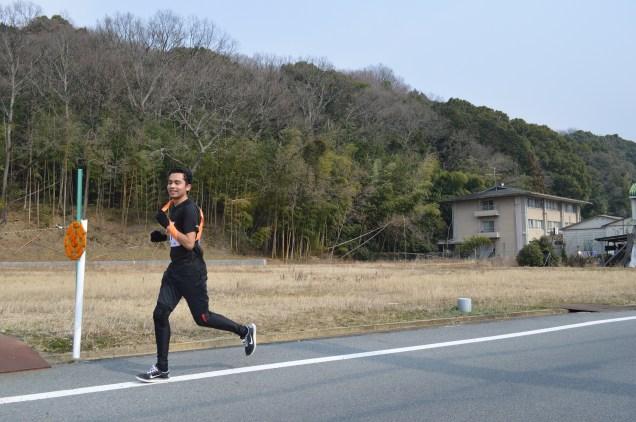 Mid run for Oscar