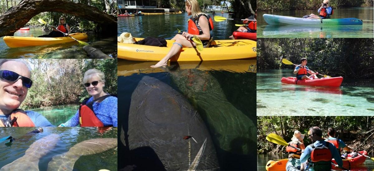 Kayak Weeki Wachee Springs, Florida