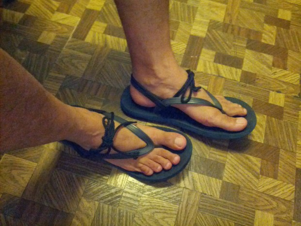 Flip-flop Huaraches