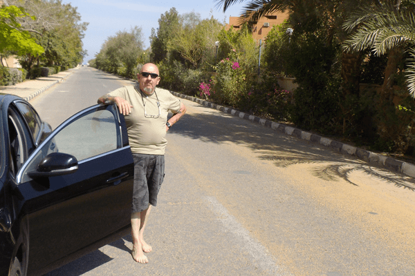 Randall in Egypt