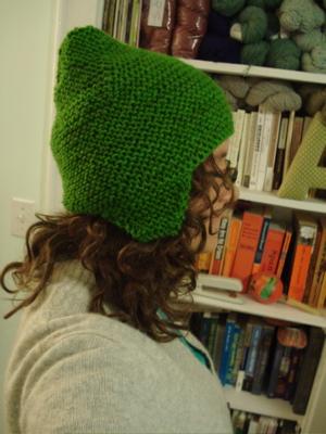 super hero helmet hat green