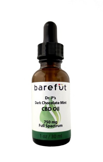 Dr. P's Dark Chocolate Mint CBD Oil 750mg