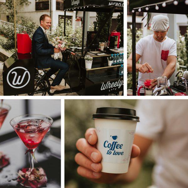 Mobilna kavarna na poroki - Vili vas bo preprosto očaral