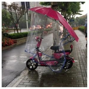 Elektriske motorsykkel.