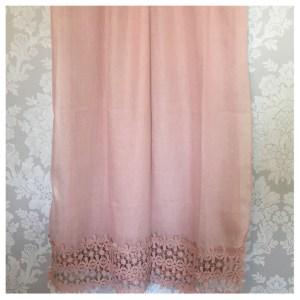 Skjerf pudder-rosa