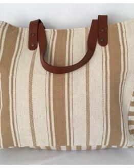 Strandbag beige