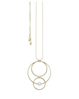 TAMARA ORBIT NECKLACE GOLD PLATING