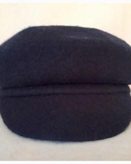 Hatt, blå