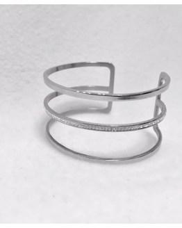 Armring i sølv med stener Cesena