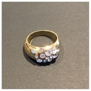 Ring, Mix&Match Slim Crystal, gull