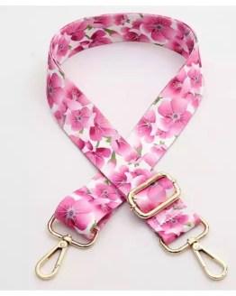 Skulderbånd rosa blomster