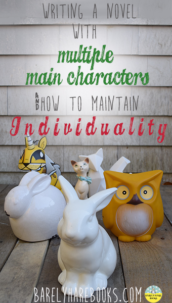 Writing a Novel with Multiple Main Characters…