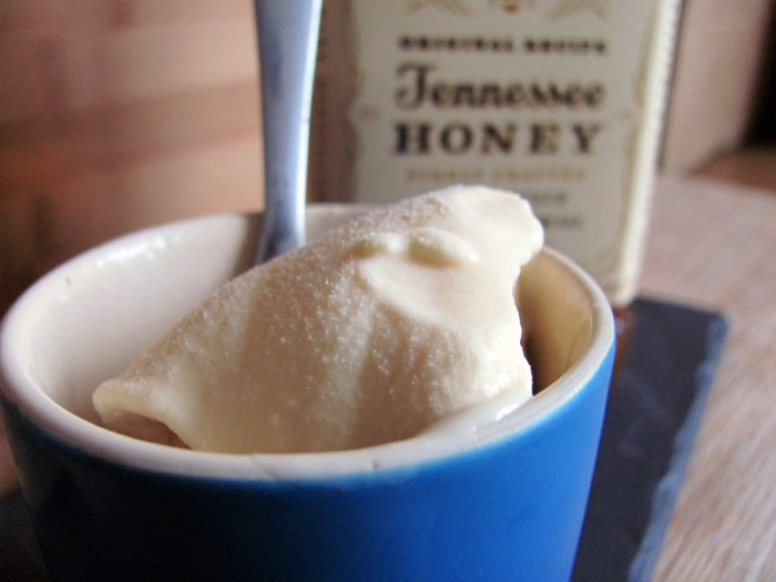 Honey Jack Alcoholic Ice cream