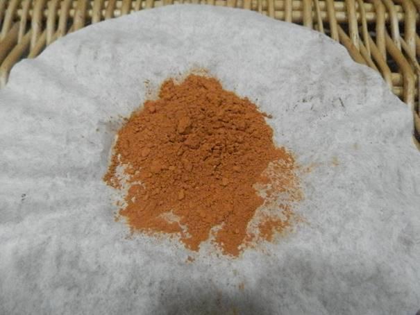Delicious Strawberry and Chocolate mask - Orange illite clay